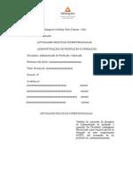 ATPS de Administração Da Produção e Operação-2015-6 Enviar