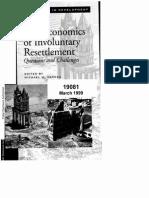 Economic of Involuntary Resettlement