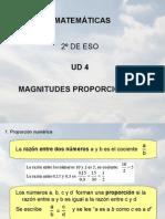 4. Magnitudes Proporcionales