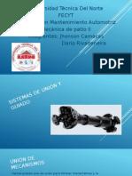 Mecanismos de Union y Sujeccion