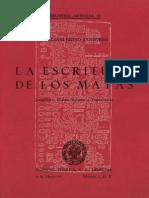 Brito Sansores_La Escritura de Los Mayas-Jeroglíficos, Chilam Balames y Toponímicos (1981)