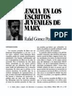 Violencia en Los Escritos Juveniles de Marx