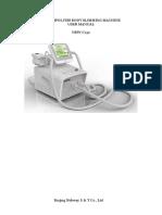 Cryolipolysis Body Slimming Machine Nbw-c132-User Manual