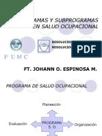 Subprogramas Salud Ocu.ppt