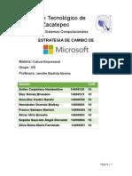 Estrategias de Cambio de Microsoft