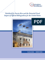 Statehood for Puerto Rico and the Potential Fiscal Impact of Official Bilingualism for the United States