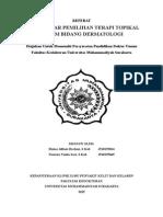 Referat Dasar2 Pemelihan Terapi Topikan Dalam Dermatologi