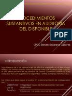 Audit Del auditoria del disponibleDisponible