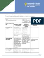 Planeación proyecto Educativo