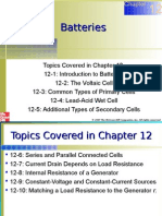 Chapter 12 Battteries