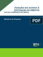 Relatorio Democratizacao do Acesso à Justiça no Brasil
