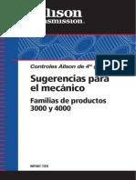 MT4015ES Manual - Mecan. Allison