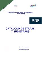 Guía No 10 - Catálogo de Etapas-SubEtapas