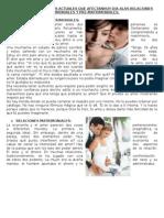 Retos de las relaciones matrimoniales