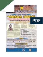 CURSO OHSAS 18001