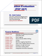 Chapter 1_Formation Evaluation_Dr. Adel Salem