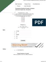 Linear Interpolation Equation Formula Calculator