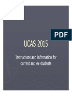 UCAS 2015 for students