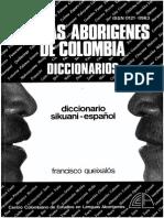 Diccionario Sikuani Espanol