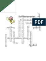 Crucigrama - Segmentales