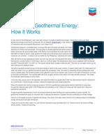 Geothermal Howitworks