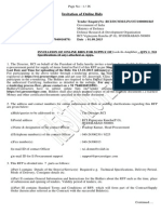 Lock in Amplifier Tender Document