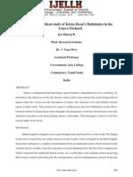 Ecocritical Study of Kiran Desai's Hullabaloo in The