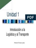 Unidad 1- Introducción Al Transporte 2012