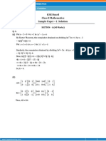 ICSE- Mathematics Sample Paper-1-solution-Class 10 Question Paper