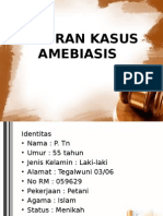 LAPORAN KASUS AMEBIASIS