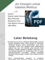 Insulin Untuk Diabetes Mellitus