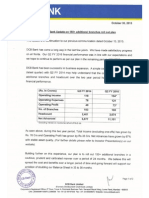 DCB Bank Update on 150+ additional branches roll out plan [Company Update]