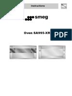 Kitchen - Smeg Oven SA995-XR5