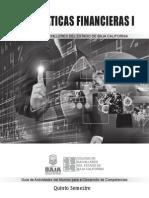 Matemáticas Financieras I 2015-2