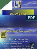 Unit 4.1 Ergonomics