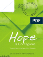 Hope is Contagious by Ken Hutcherson, Excerpt