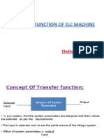 transfer function of d.c.machine using generalised machine theory