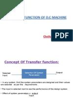 transfer function of d.c.machine using generalised machine theory