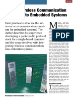 Adding Wireless Communication Capability to Embedded Systems