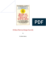 50 Ideas That Can Change Your Life - Robert Anthony