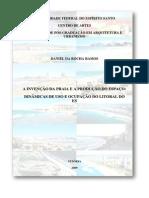 A Invenção Da Praia. Arquitetura e Urbanismo. Dissertação