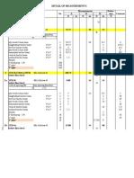 BQ for 1st Floor Scaffold (1000 Ft)