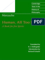 Friedrich Nietzsche - Human All Too Human a Book for Free Spirits (1996)