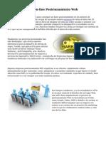 Ofertas En Curso On-line Posicionamiento Web
