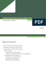 Optimizing Deep Neural Networks