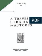 Luisa Luisi - A Traves de Libros y de Autores