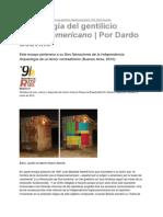 """Dardo Scavino, """"Anfibología Del Gentilicio Hispanoamericano"""", 2010"""