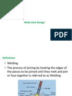 Welded Joint Design 28Nov