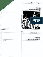 Fernando Wagner - Teoría y Ténica Teatral