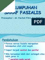 Parese Nervus Fasialis N VII